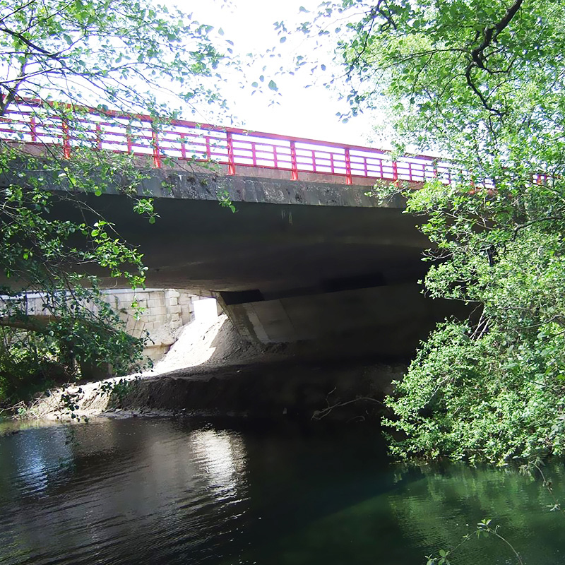 BRIDGE OVER THE RIVER ÂNCORA