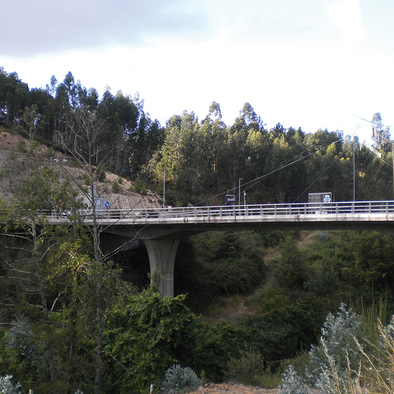 ROAD BRIDGE OVER THE RIVER FERREIRA